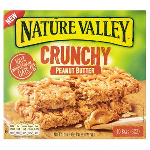 Nature Valley Crunchy Peanut Butter Cereal Bars 5 x 42g