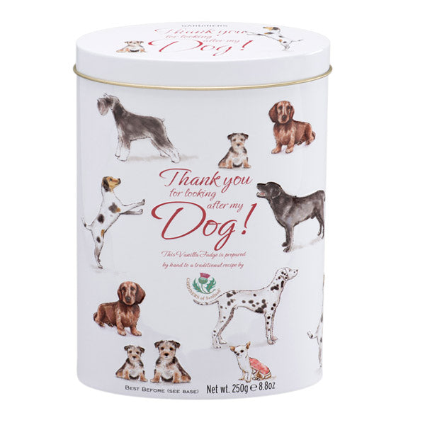 Thank You Vanilla Fudge 250g Tin (DOGS)
