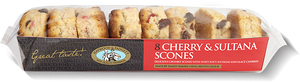 Haywoods Cherry & Saltana Scones  (collection only)