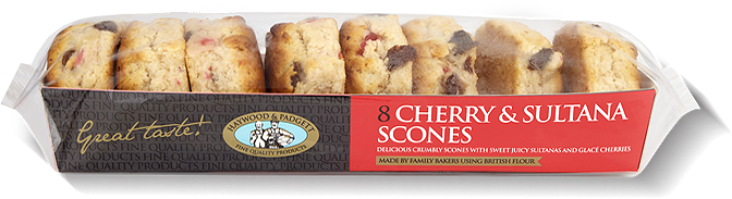 Haywoods Cherry & Saltana Scones  (shop pick-up only)