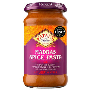 Pataks Madras Curry Paste 283g