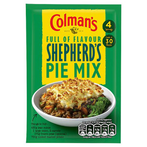 Colman's Shepherd's Pie Recipe Mix 50G