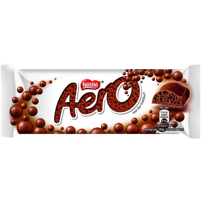 Aero Milk Chocolate Sharing Bar 90g