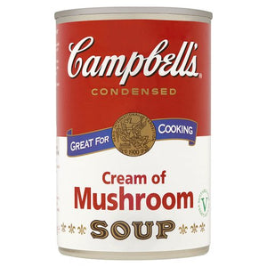 Campbells Condensed Soup Cream Of Mushroom 295g