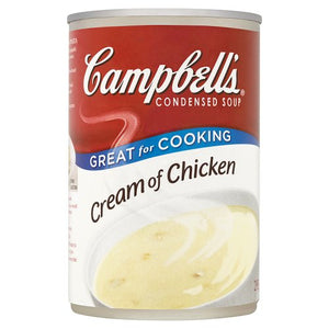 Campbells Condensed Soup Cream Of Chicken 295g