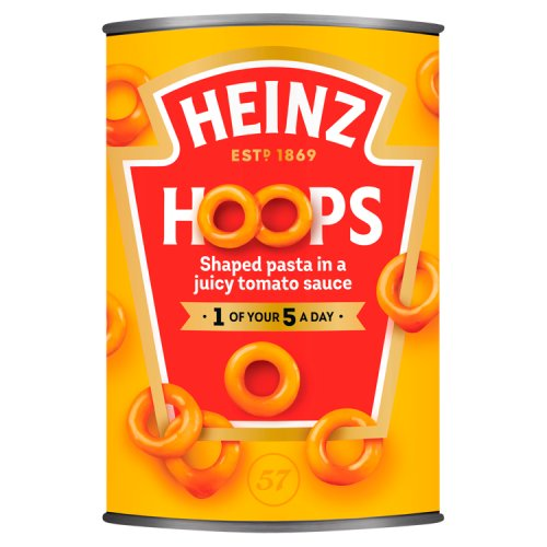 Heinz Spaghetti Hoops in Tomato Sauce 400g