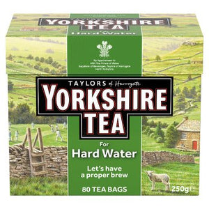 Yorkshire Tea For Hard Water 80 Tea Bags