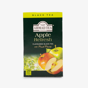 Ahmad Tea - Apple Refresh Fruit Black Teabags 20s