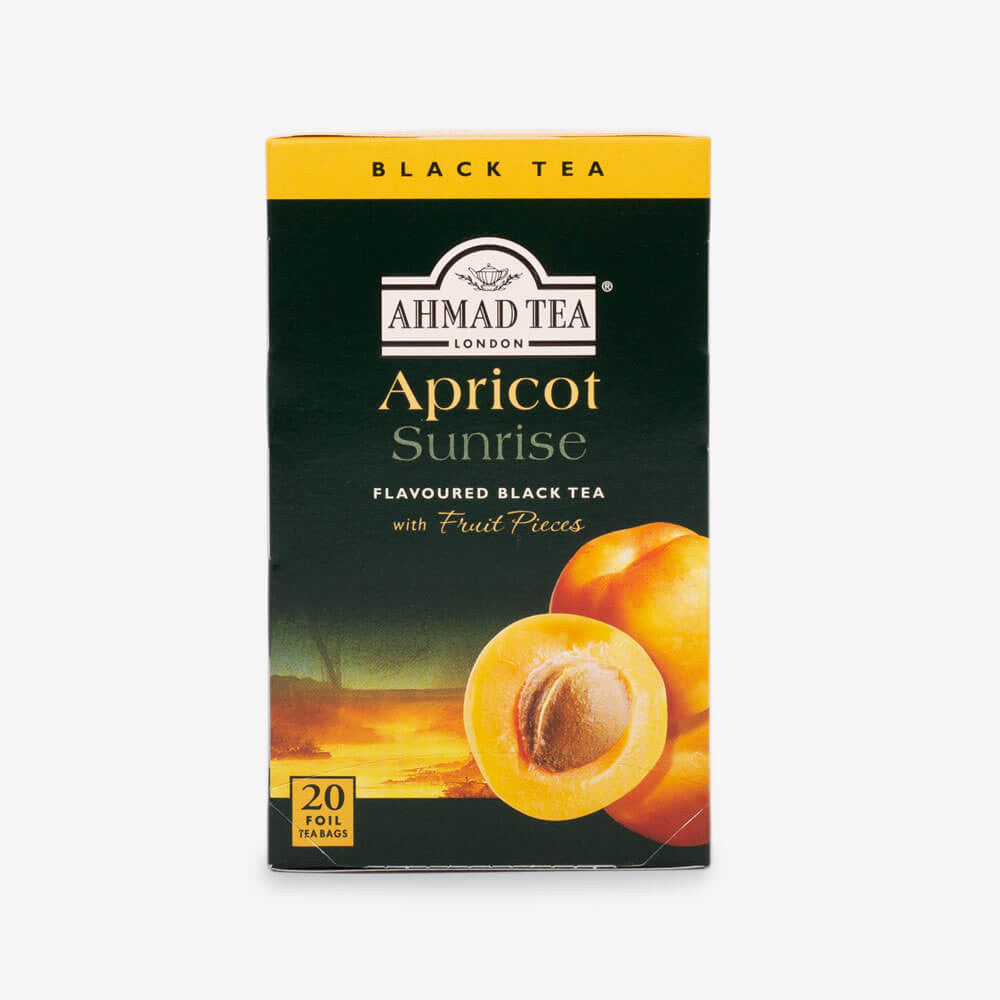 Ahmad Tea - Apricot Sunrise Fruit Black Teabags 20s