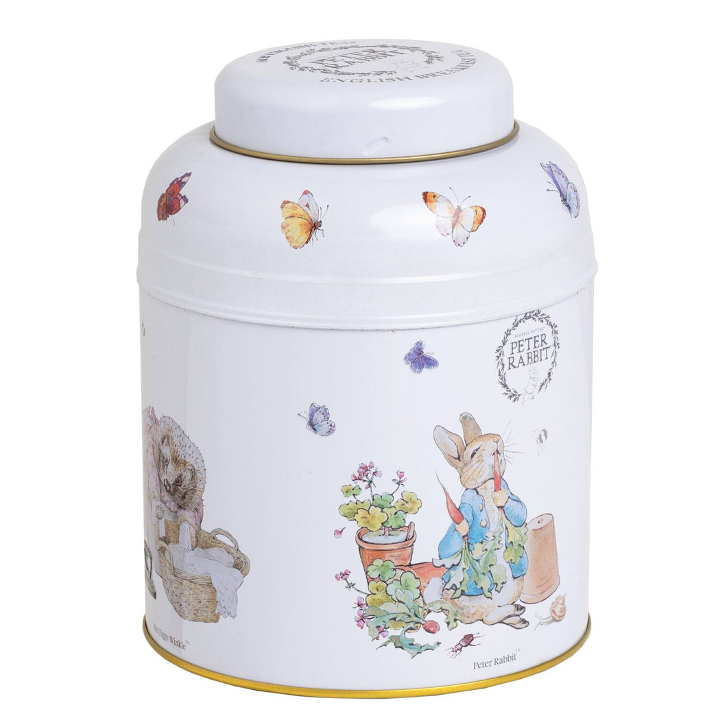 Beatrix Potter Tea Caddy with 80 English Breakfast Teabags