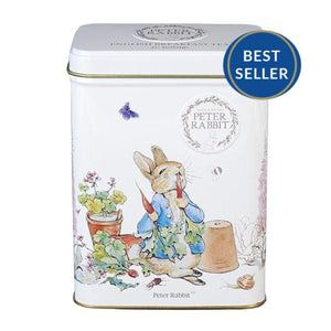 Beatrix Potter Peter Rabbit Tea Tin 40 English Breakfast teabags