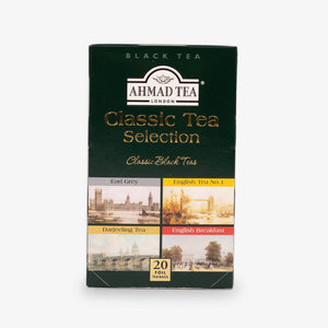 Ahmad Tea - Classic Tea Selection of 4 Black Teas Teabags 20s