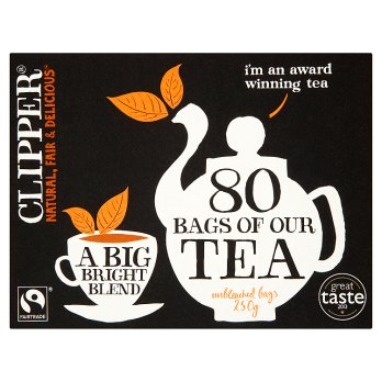 Clipper Fairtrade Everyday 80 Tea Bags