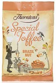 Thorntons Brazil Nut Special Toffee 240g