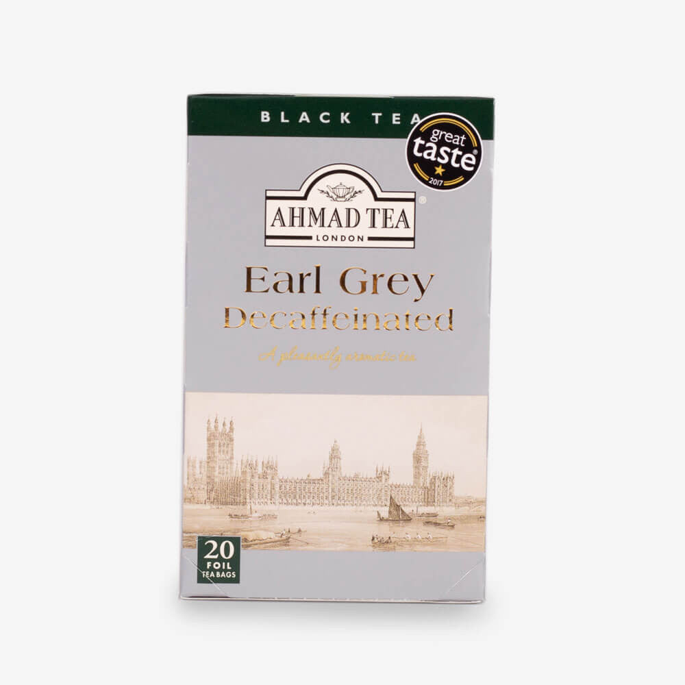 Ahmad Tea - Earl Grey Decaffeinated Teabags 20s