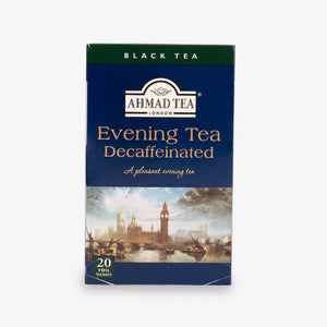 Ahmad Tea - Evening Tea Decaffeinated Teabags 20s