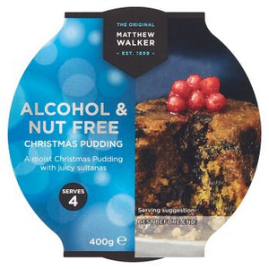 Matthew Walker Alcohol & Nut Free Christmas Pudding 400g