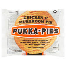 Pukka Pie Chicken & Mushroom (collection only)