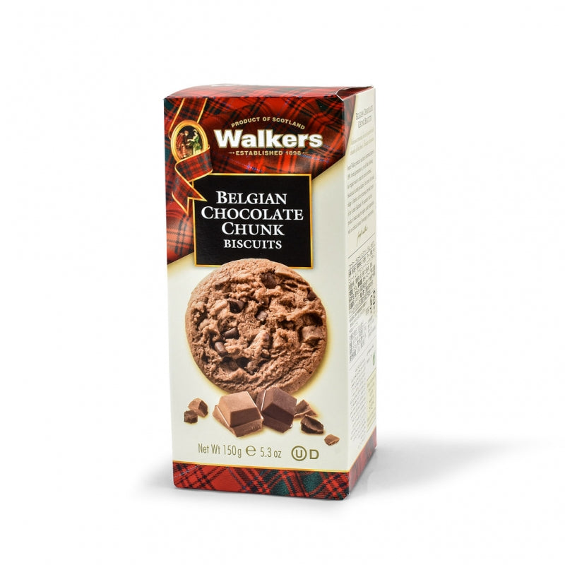 Walkers Choc Chunk Biscuits 150g