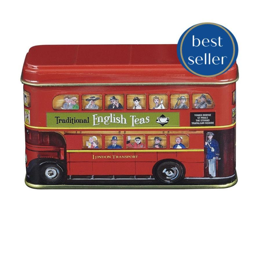 London Bus Tea Tin 25 bags