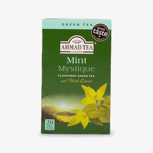Ahmad Tea - Mint Mystique Green Teabags 20s
