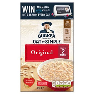 Quaker Oat So Simple Original Porridge 12x27g