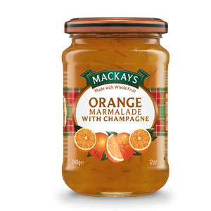 Mackays Orange Marmalade With Champagne 340g