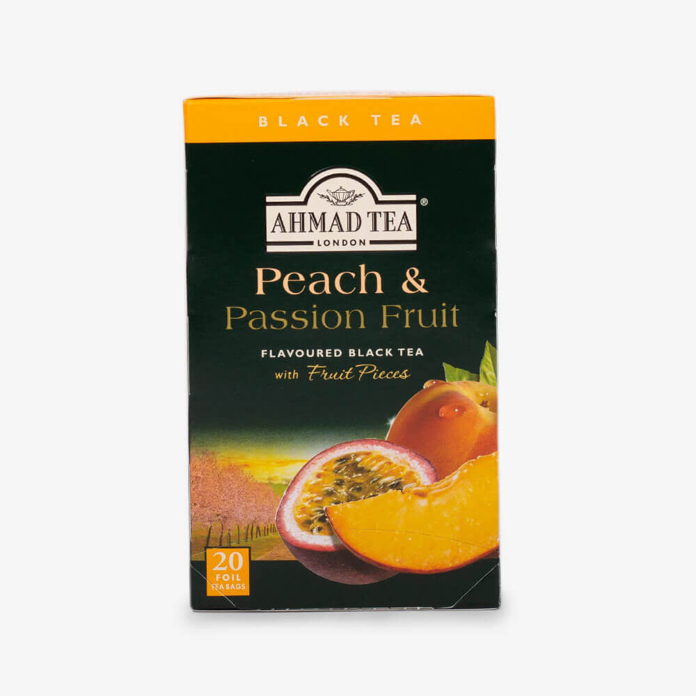 Ahmad Tea - Peach & Passion Fruit Fruit Black Teabags 20s