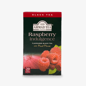 Ahmad Tea - Raspberry Indulgence Fruit Black Teabags 20s