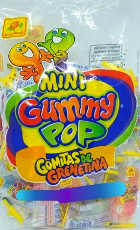 Gummy pop mini  25 pzas