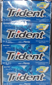 Trident Menta VALUE PACK 18s 12 Pzas