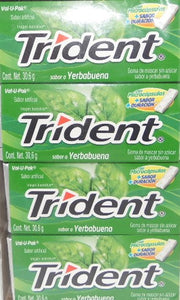 Trident yerbabuena VALUE PACK 18s 12 Pzas