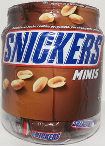 Vitrolero Snickers Mini 52 Pzas