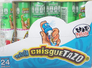 Chisguetazo Spray 24 Pzas