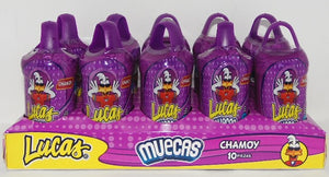 Lucas Muecas Chamoy 10 pzs