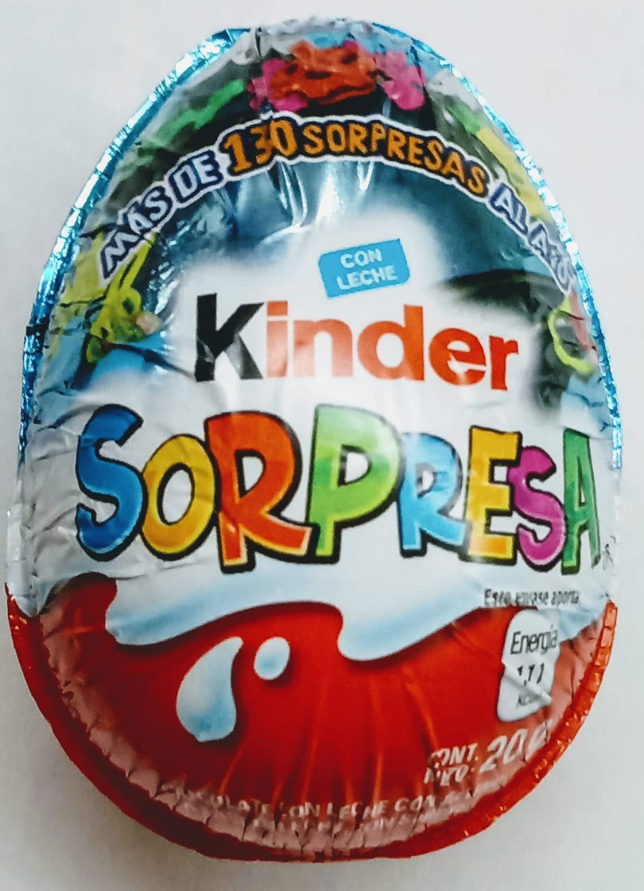 Chocolate Huevo Kinder Niño 1 pza 20g