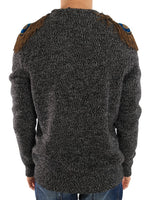 Gray Wool Cashmere Sweater
