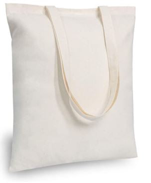 Tote Bag (White Cotton)