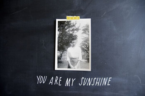 """you are my sunshine"" decal"