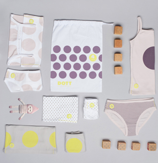 dott girl's 8-piece undies set