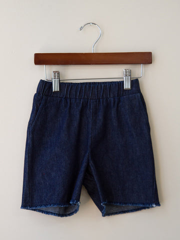 denim trunk short