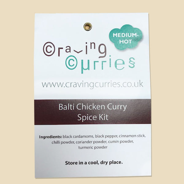 Balti Chicken Curry Spice Kit