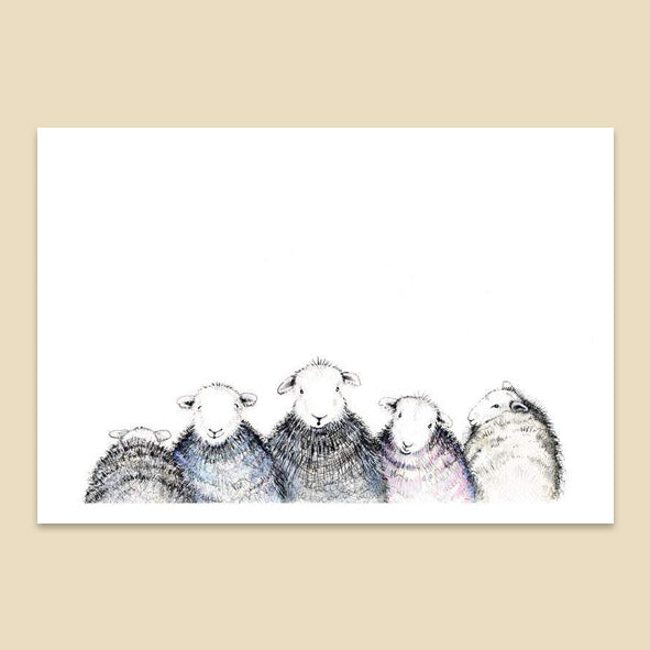 5 Herdwick Greetings Card