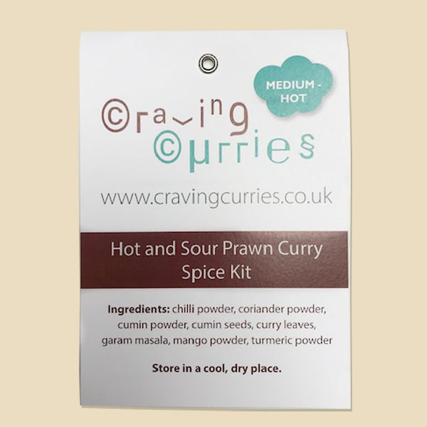 Hot and Sour Prawn Curry Spice Kit
