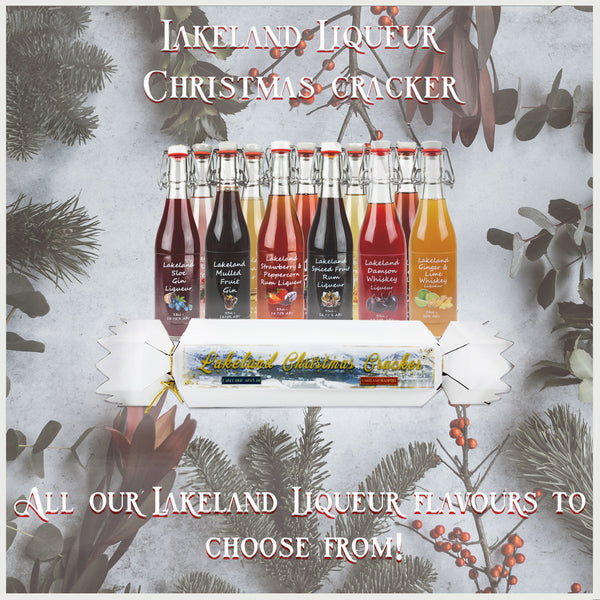 Lakeland Liqueur Christmas Crackers