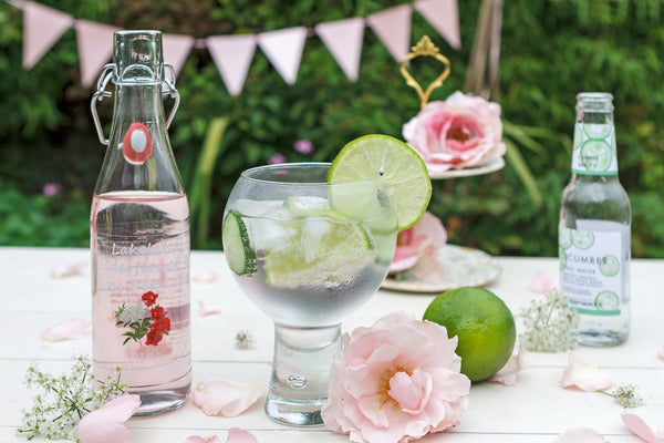 Lakeland Elderflower & Rose Gin Liqueur