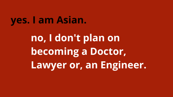 Asian doctor lawyer engineer