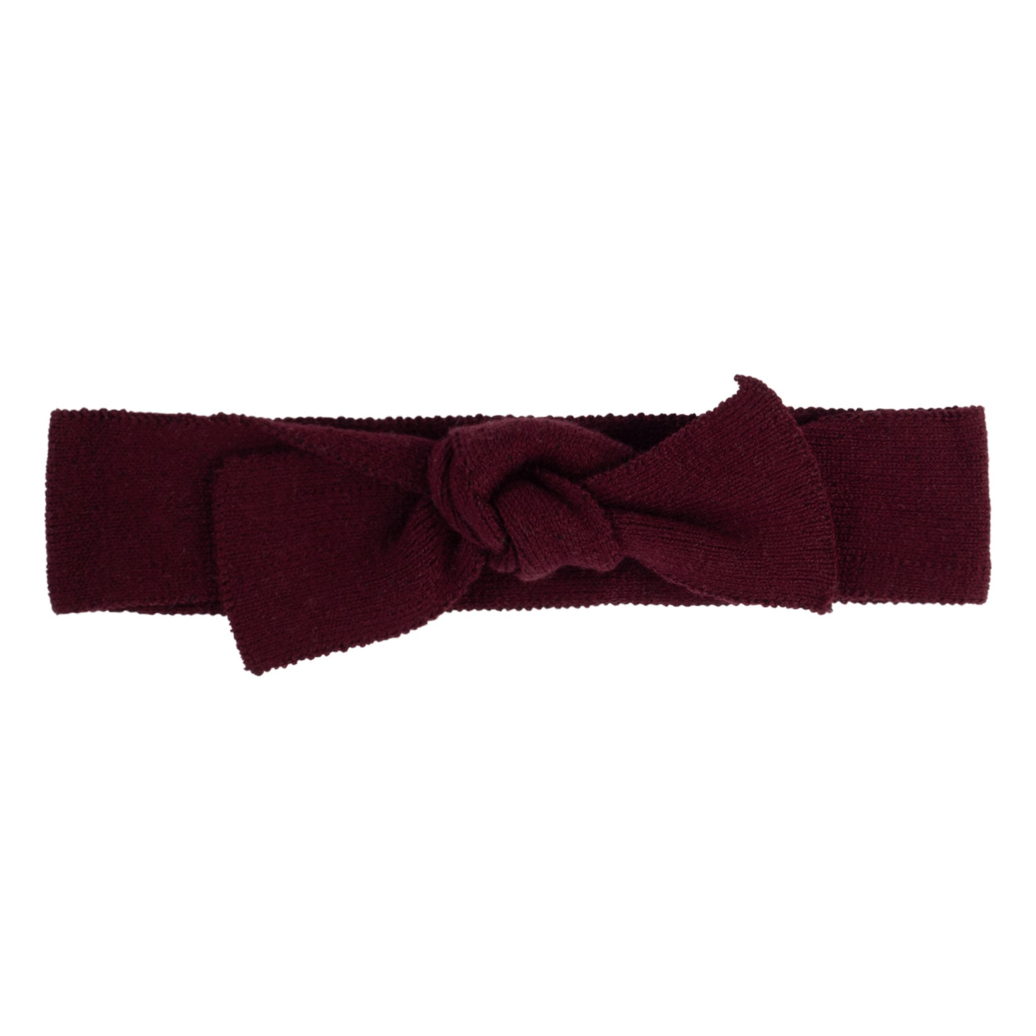 Bow Headbands ~ Burgundy