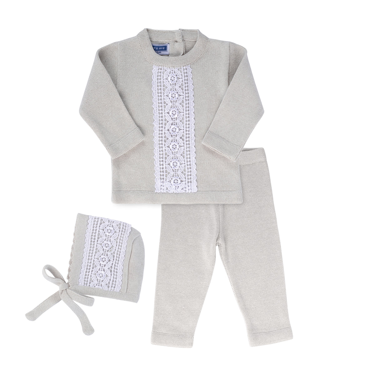 Cassia Set ~ Cloud Grey