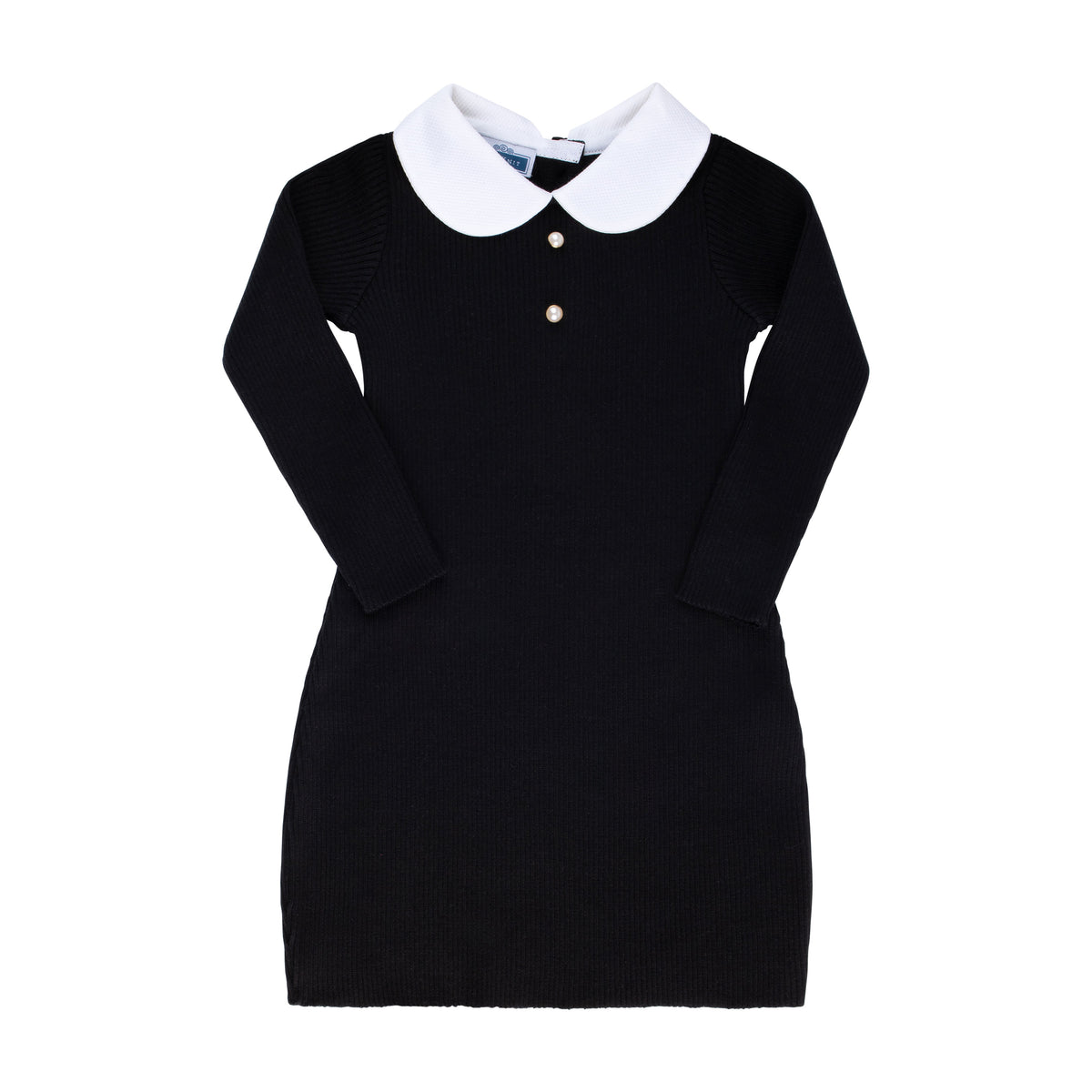Peter Pan dress ~ Black